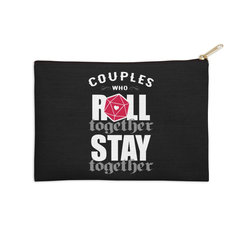 Couples who roll together Accessories Zip Pouch by ninthstreetdesign's Artist Shop