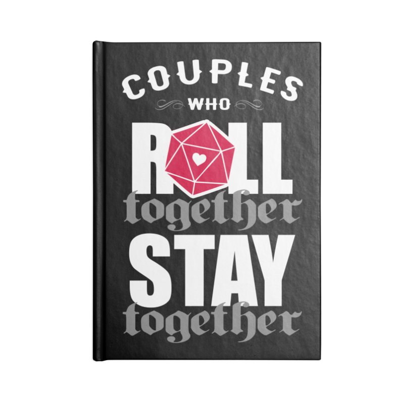 Couples who roll together Accessories Notebook by ninthstreetdesign's Artist Shop