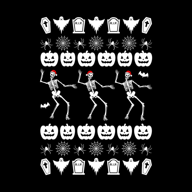 Spooky Christmas Sweater None  by ninthstreetdesign's Artist Shop
