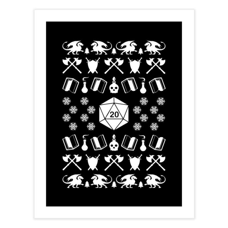 Merry Critmas Home Fine Art Print by ninthstreetdesign's Artist Shop