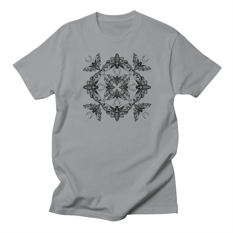 Ghost Cirice Moth Kaleidoscope Women's Unisex T-Shirt by ninthstreetdesign's Artist Shop