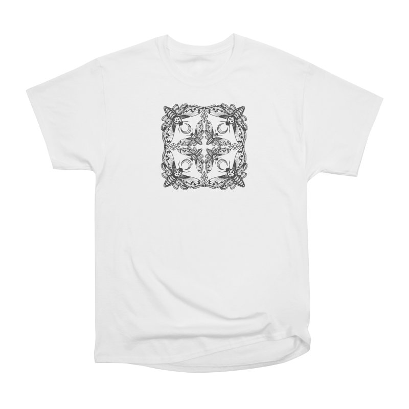 Death Head Moth Kaleidoscope Women's Classic Unisex T-Shirt by ninthstreetdesign's Artist Shop