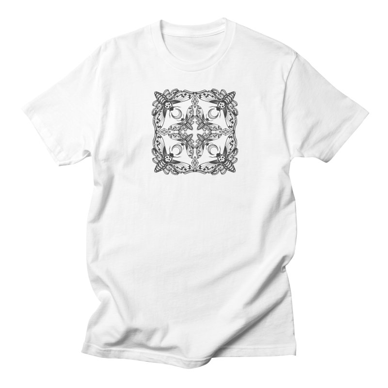 Death Head Moth Kaleidoscope Women's Unisex T-Shirt by ninthstreetdesign's Artist Shop