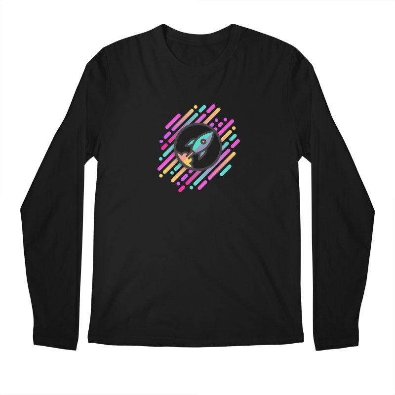 Through the Star Gate Men's Longsleeve T-Shirt by ninthstreetdesign's Artist Shop
