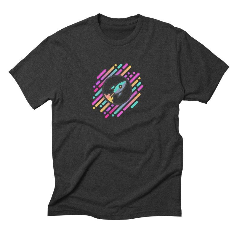 Through the Star Gate Men's Triblend T-shirt by ninthstreetdesign's Artist Shop