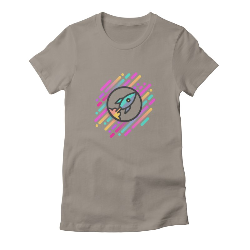 Through the Star Gate Women's Fitted T-Shirt by ninthstreetdesign's Artist Shop