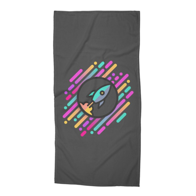 Through the Star Gate Accessories Beach Towel by ninthstreetdesign's Artist Shop