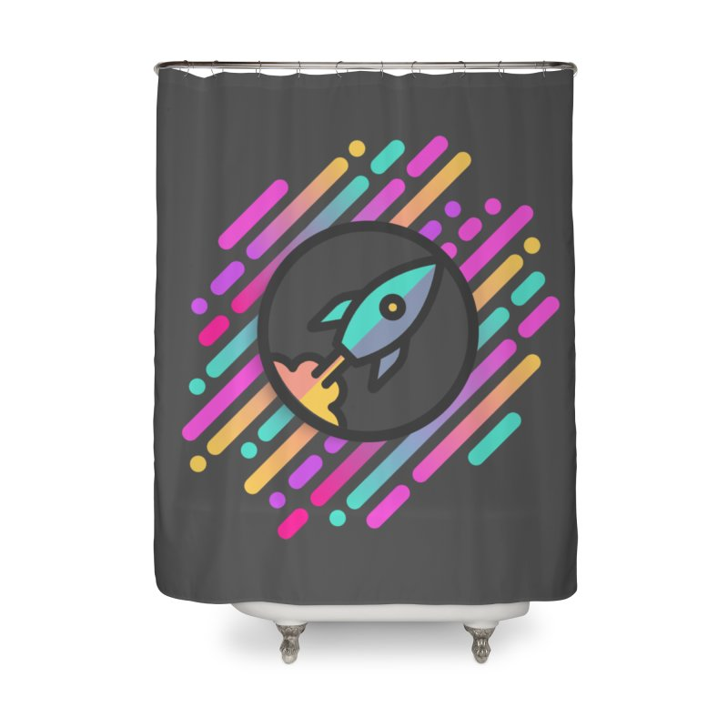 Through the Star Gate Home Shower Curtain by ninthstreetdesign's Artist Shop