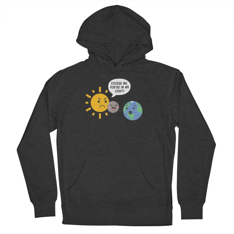 Solar Eclipse Men's Pullover Hoody by ninthstreetdesign's Artist Shop