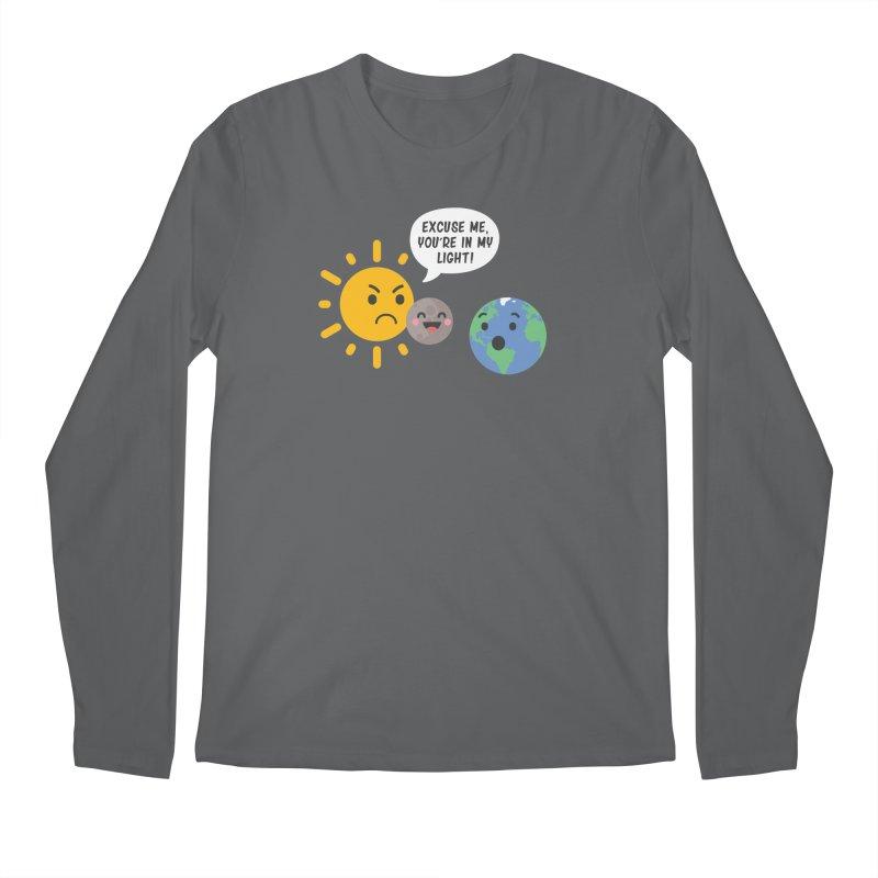 Solar Eclipse Men's Longsleeve T-Shirt by ninthstreetdesign's Artist Shop