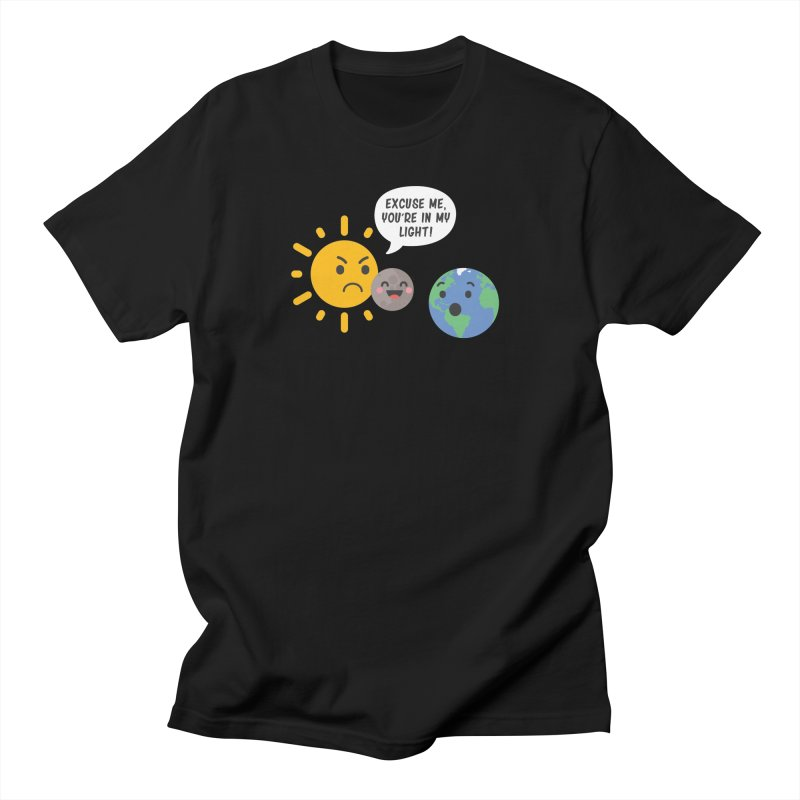 Solar Eclipse Women's Unisex T-Shirt by ninthstreetdesign's Artist Shop