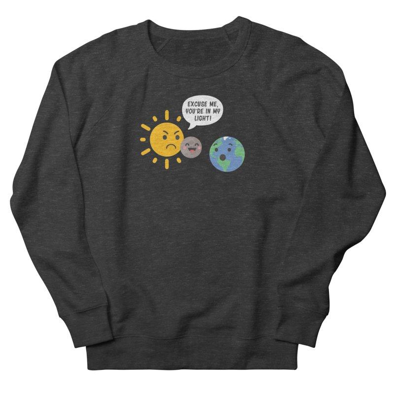 Solar Eclipse Women's Sweatshirt by ninthstreetdesign's Artist Shop