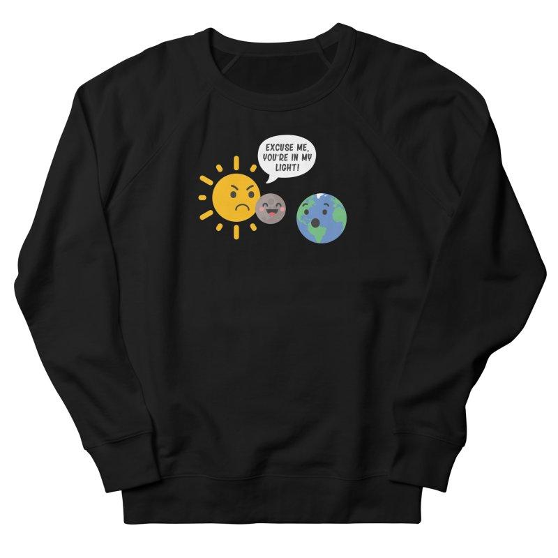 Solar Eclipse Men's Sweatshirt by ninthstreetdesign's Artist Shop