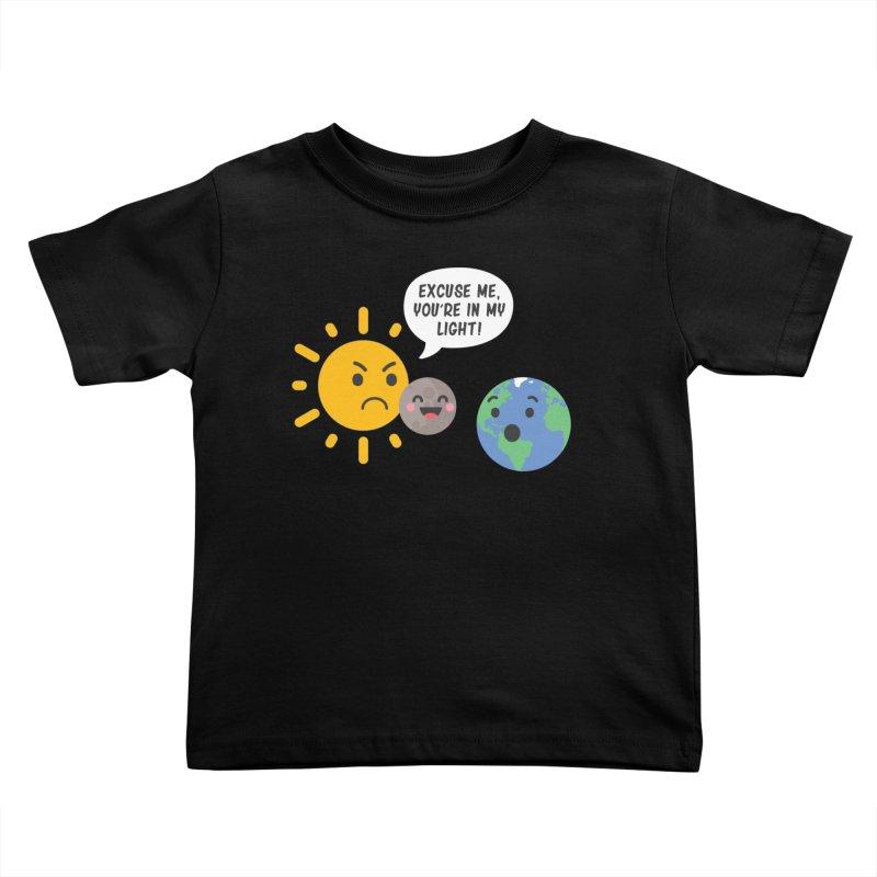 Solar Eclipse Kids Toddler T-Shirt by ninthstreetdesign's Artist Shop