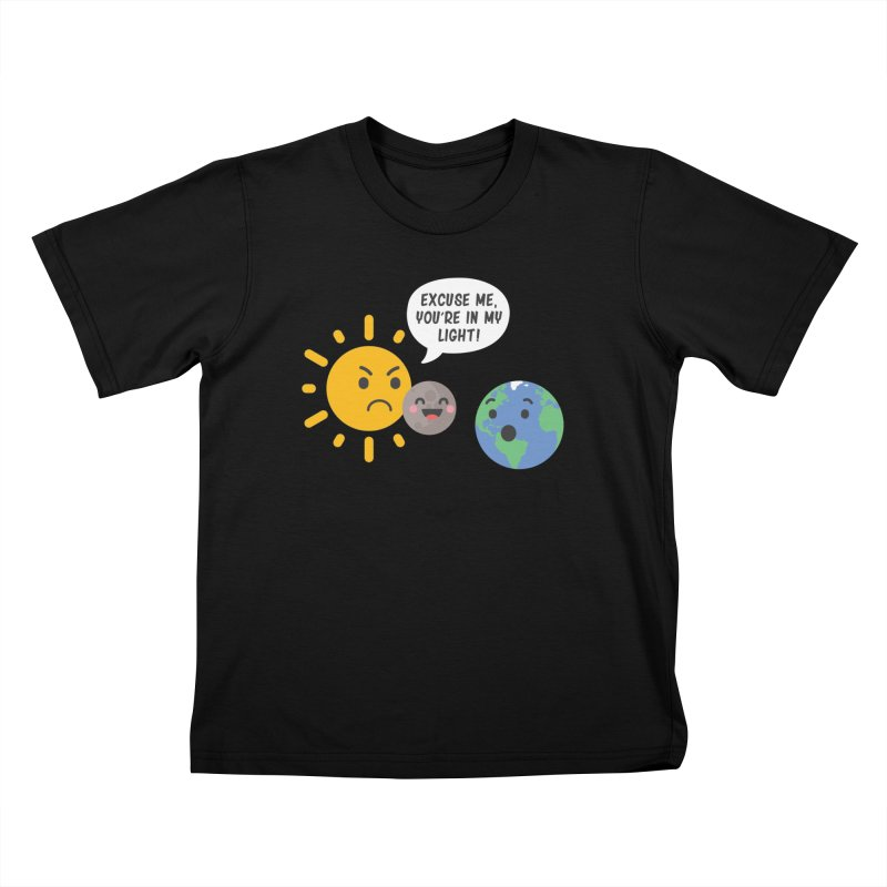Solar Eclipse Kids T-shirt by ninthstreetdesign's Artist Shop