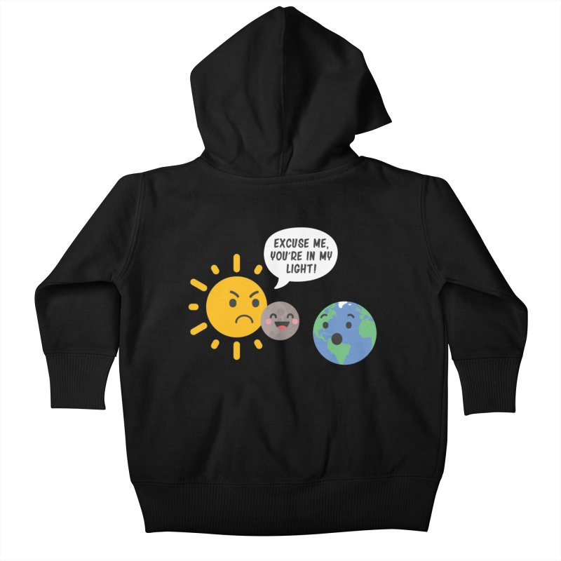 Solar Eclipse Kids Baby Zip-Up Hoody by ninthstreetdesign's Artist Shop