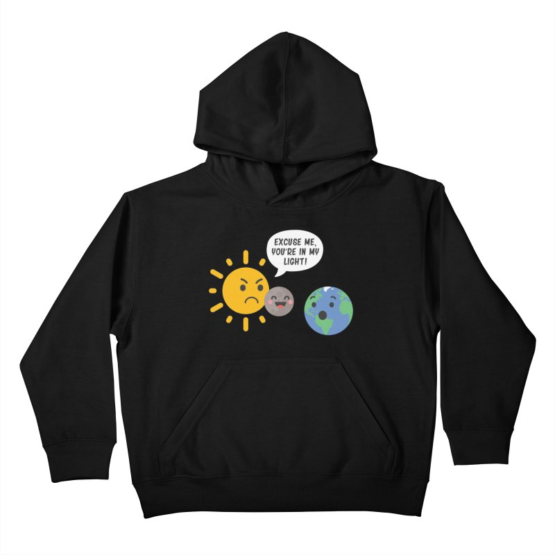 Solar Eclipse Kids Pullover Hoody by ninthstreetdesign's Artist Shop