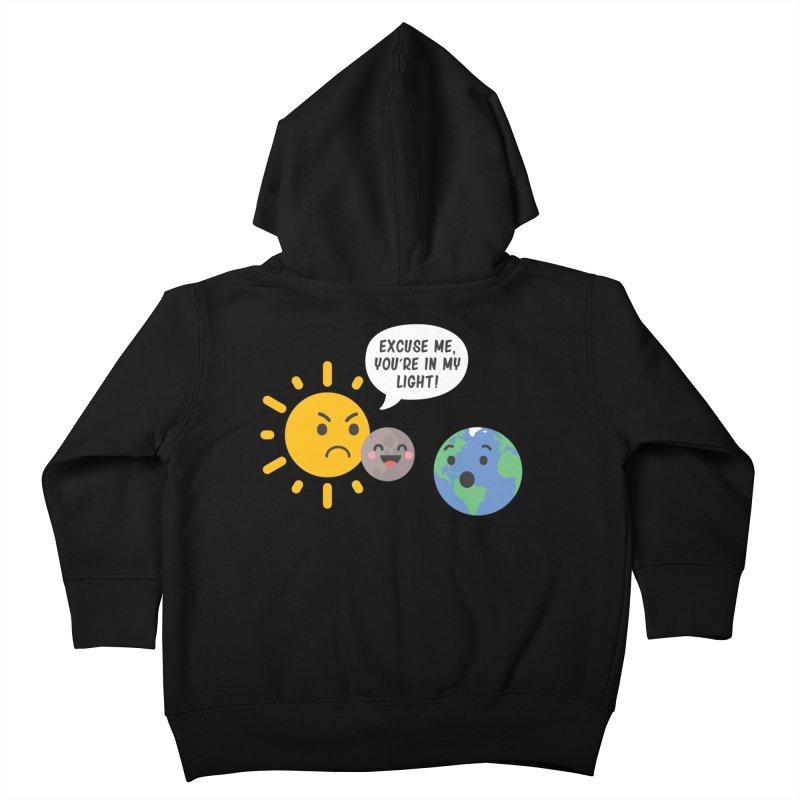 Solar Eclipse Kids Toddler Zip-Up Hoody by ninthstreetdesign's Artist Shop