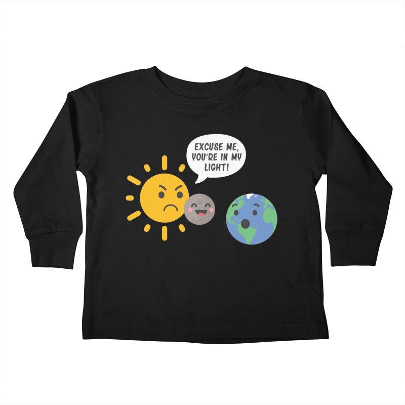 Solar Eclipse Kids Toddler Longsleeve T-Shirt by ninthstreetdesign's Artist Shop