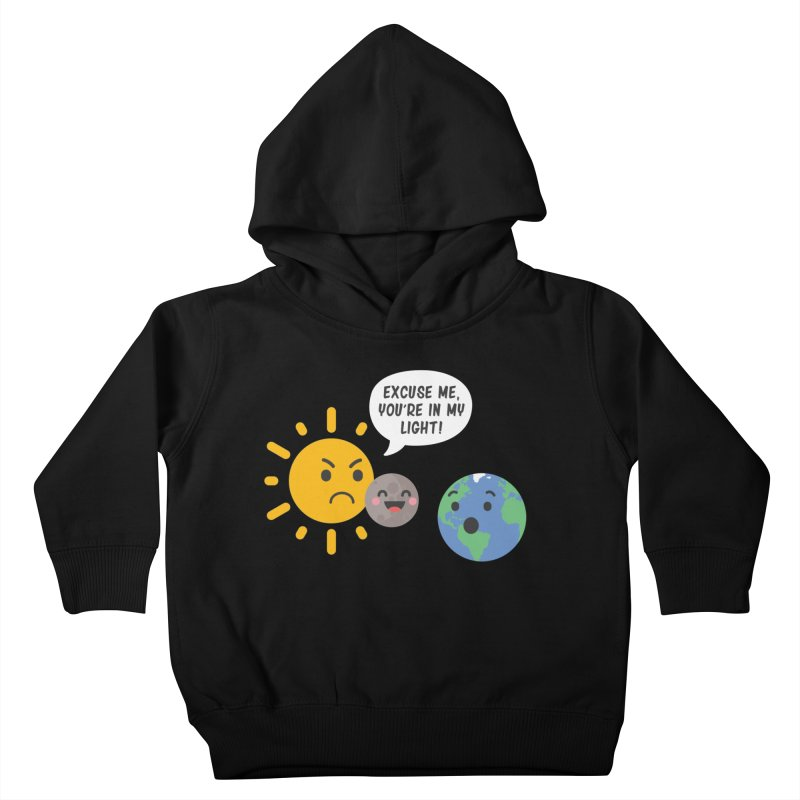 Solar Eclipse Kids Toddler Pullover Hoody by ninthstreetdesign's Artist Shop