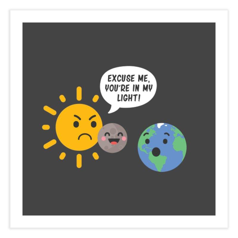 Solar Eclipse Home Fine Art Print by ninthstreetdesign's Artist Shop