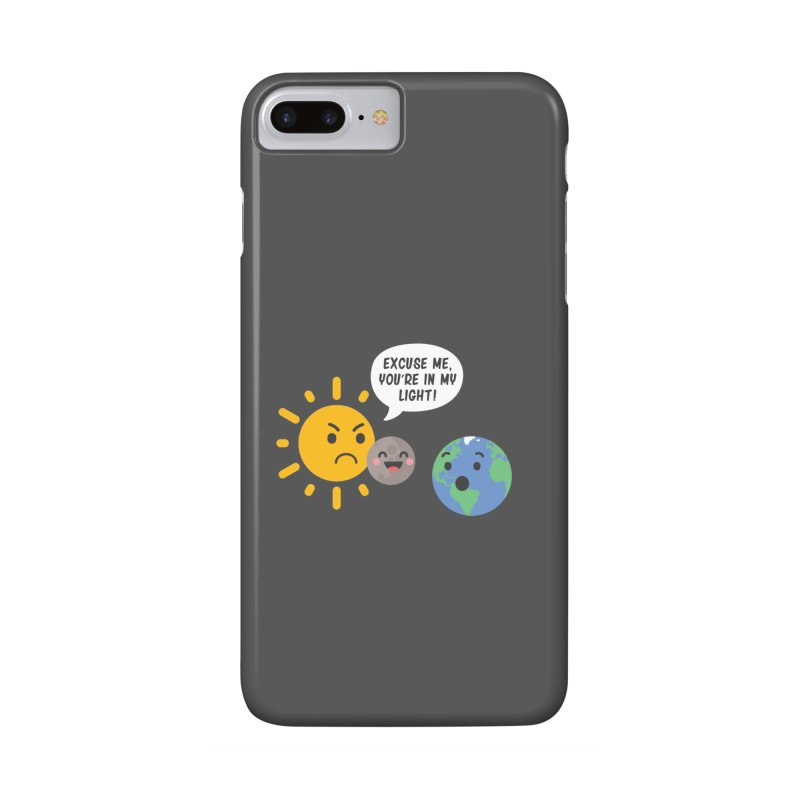 Solar Eclipse Accessories Phone Case by ninthstreetdesign's Artist Shop
