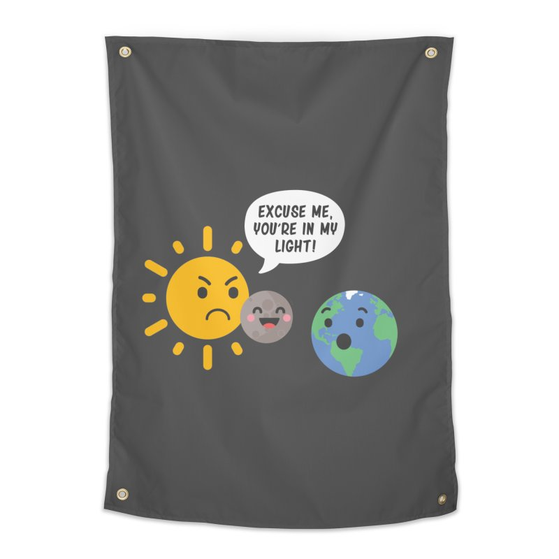 Solar Eclipse Home Tapestry by ninthstreetdesign's Artist Shop