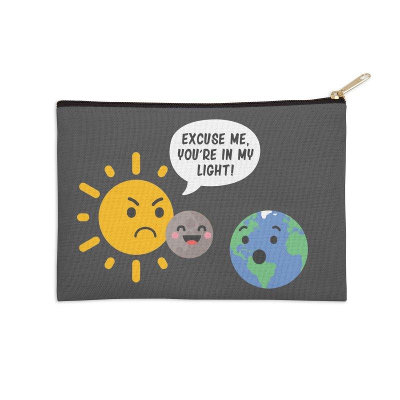 Solar Eclipse Accessories Zip Pouch by ninthstreetdesign's Artist Shop