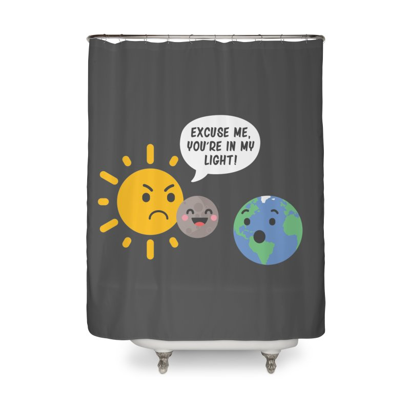 Solar Eclipse Home Shower Curtain by ninthstreetdesign's Artist Shop