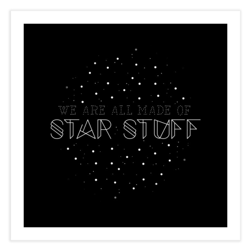 Star stuff Home Fine Art Print by ninthstreetdesign's Artist Shop