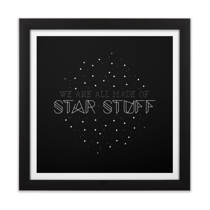 Star stuff Home Framed Fine Art Print by ninthstreetdesign's Artist Shop