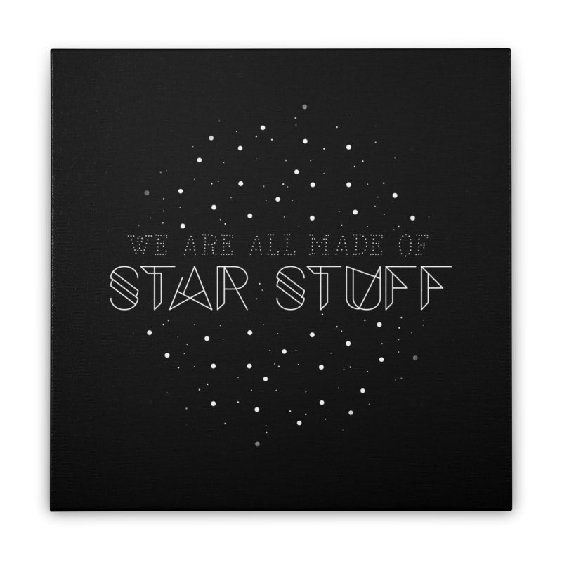 Star stuff Home Stretched Canvas by ninthstreetdesign's Artist Shop