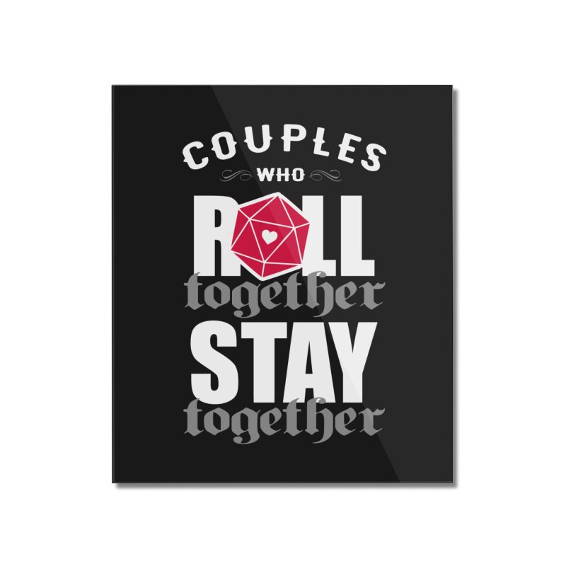 Roll together Home Mounted Acrylic Print by ninthstreetdesign's Artist Shop