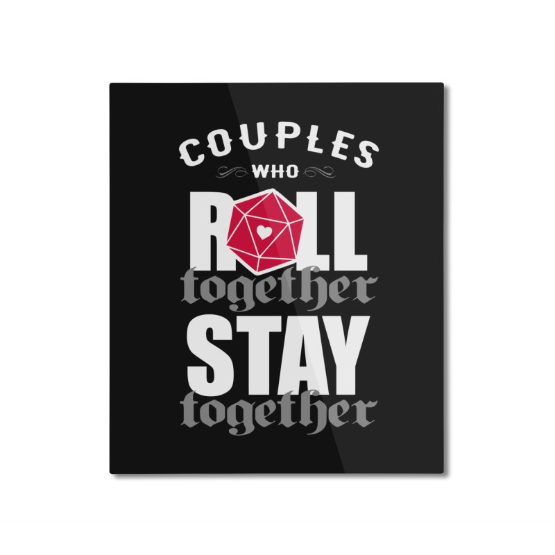 Roll together Home Mounted Aluminum Print by ninthstreetdesign's Artist Shop