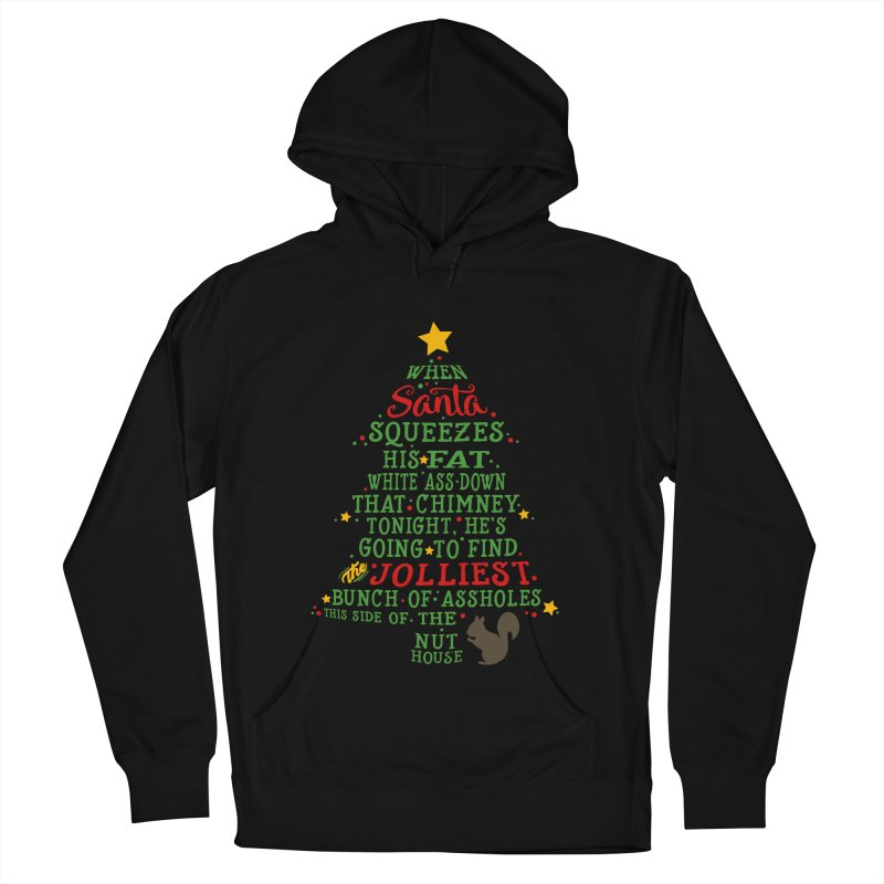 Jolliest bunch of a-holes Women's French Terry Pullover Hoody by ninthstreetdesign's Artist Shop