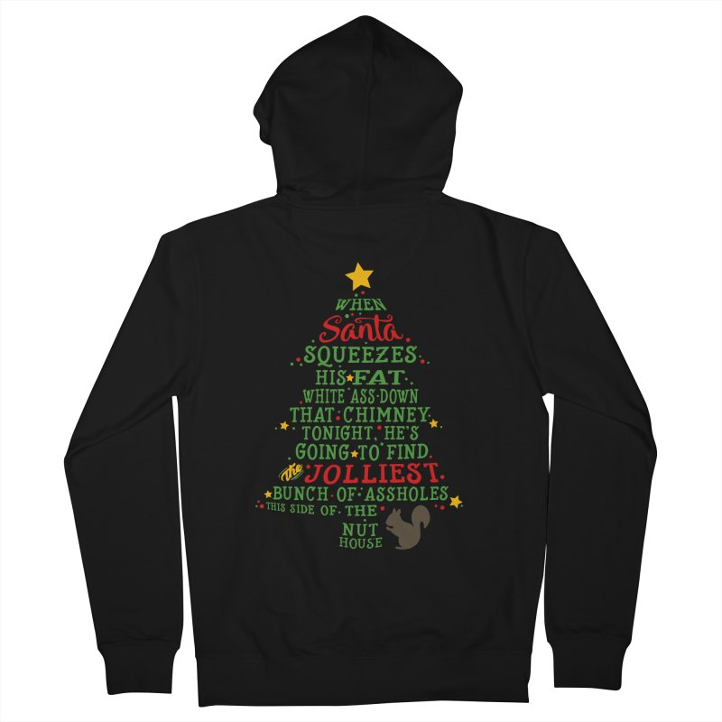 Jolliest bunch of a-holes Women's French Terry Zip-Up Hoody by ninthstreetdesign's Artist Shop