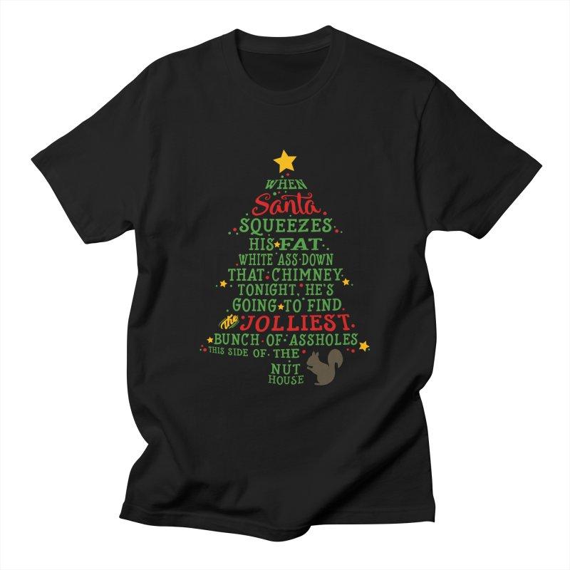 Jolliest bunch of a-holes Women's Regular Unisex T-Shirt by ninthstreetdesign's Artist Shop