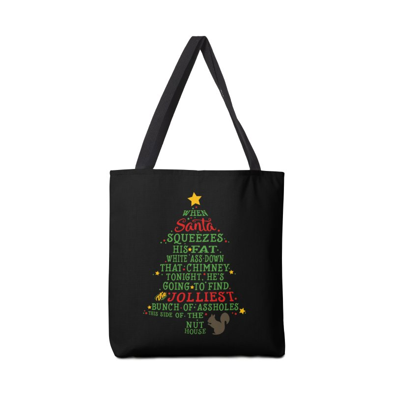 Jolliest bunch of a-holes Accessories Tote Bag Bag by ninthstreetdesign's Artist Shop
