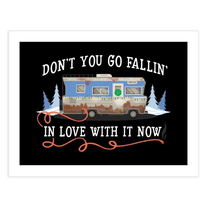 Eddie's RV Home Fine Art Print by ninthstreetdesign's Artist Shop