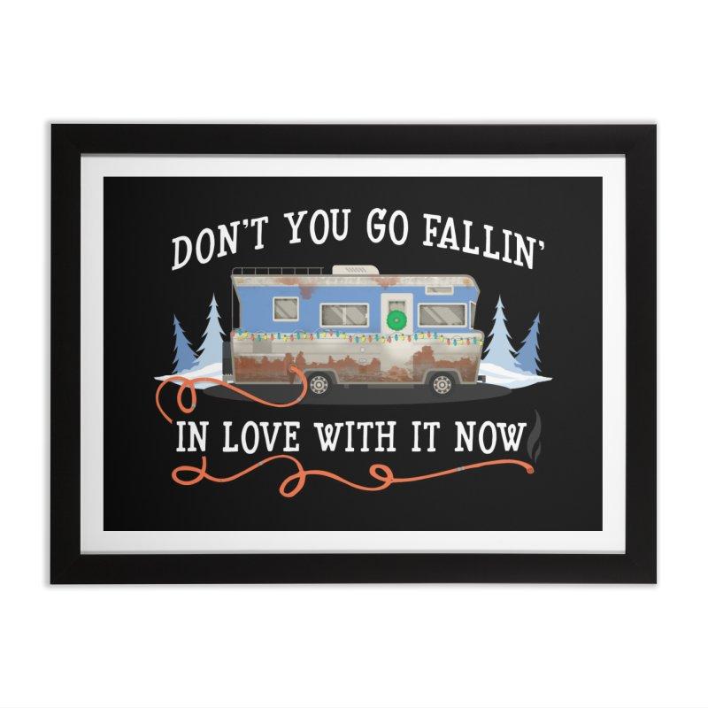 Eddie's RV Home Framed Fine Art Print by ninthstreetdesign's Artist Shop