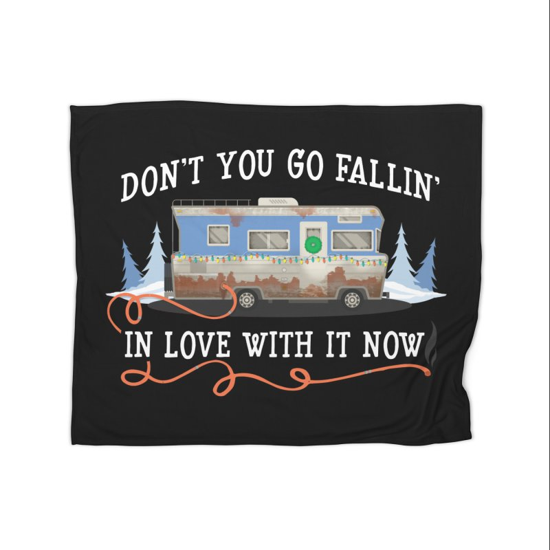 Eddie's RV Home Blanket by ninthstreetdesign's Artist Shop