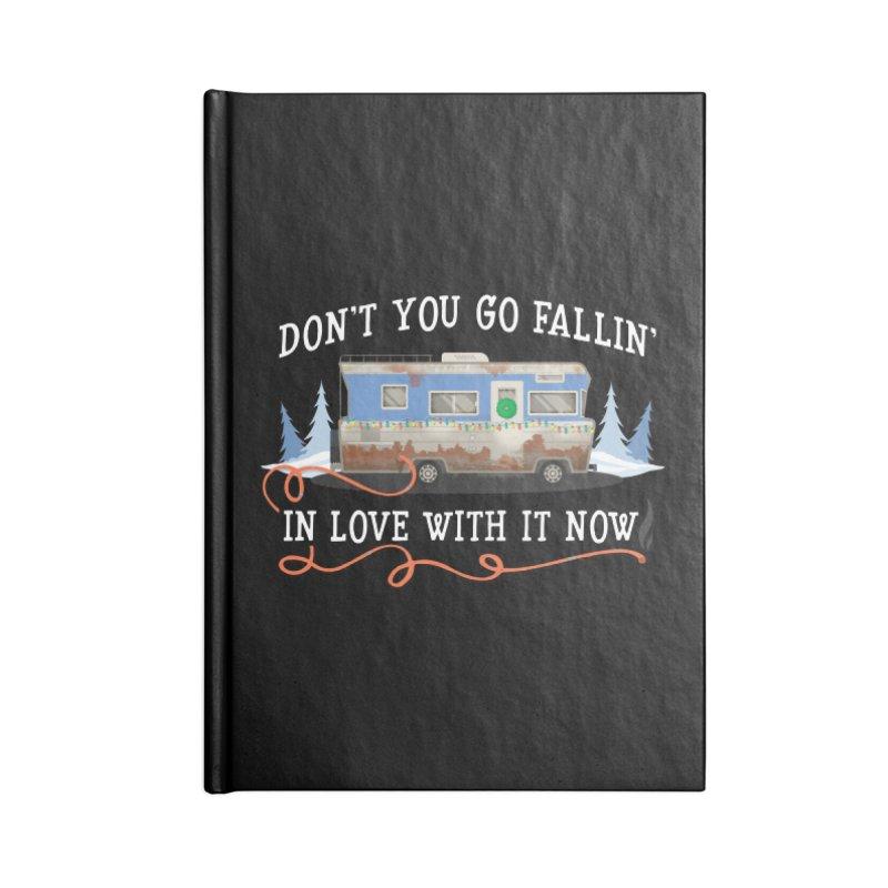 Eddie's RV Accessories Blank Journal Notebook by ninthstreetdesign's Artist Shop