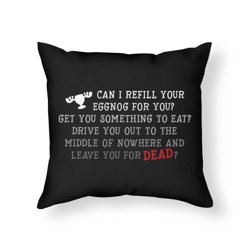 Eggnog Home Throw Pillow by ninthstreetdesign's Artist Shop