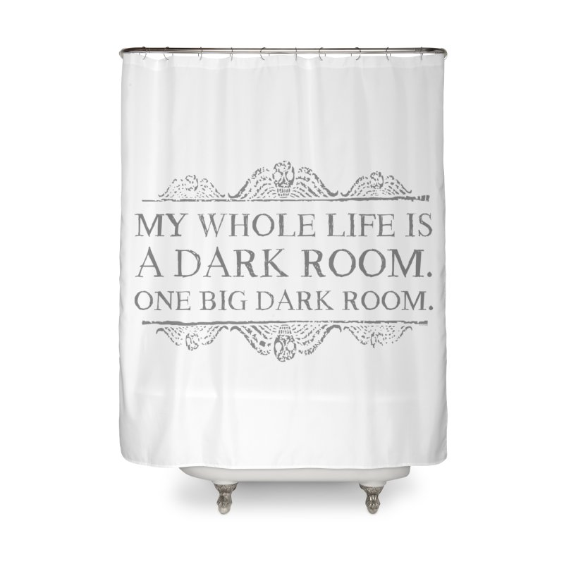 One big dark room Home Shower Curtain by ninthstreetdesign's Artist Shop