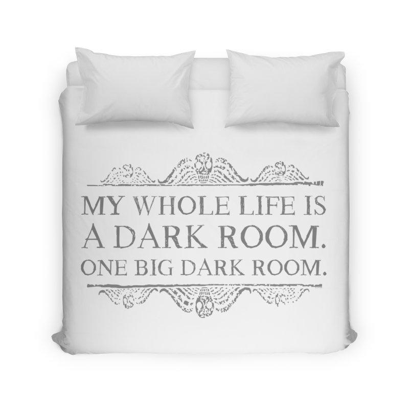 One big dark room Home Duvet by ninthstreetdesign's Artist Shop