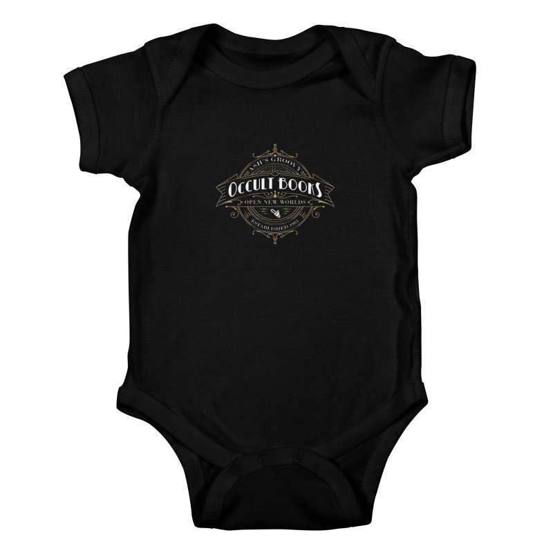 Ash's Occult Books Kids Baby Bodysuit by ninthstreetdesign's Artist Shop
