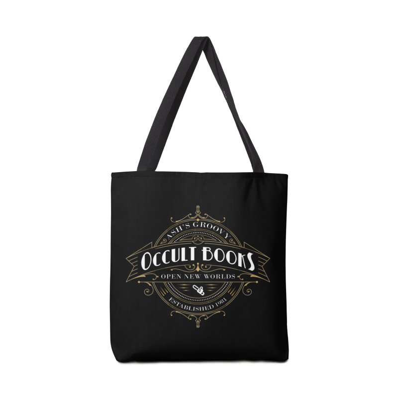 Ash's Occult Books Accessories Tote Bag Bag by ninthstreetdesign's Artist Shop