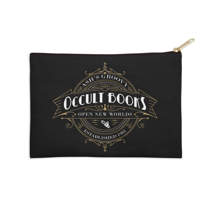 Ash's Occult Books Accessories Zip Pouch by ninthstreetdesign's Artist Shop