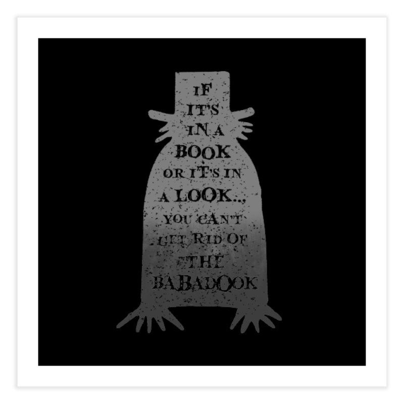 Babadook Home Fine Art Print by ninthstreetdesign's Artist Shop