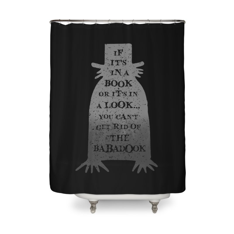Babadook Home Shower Curtain by ninthstreetdesign's Artist Shop